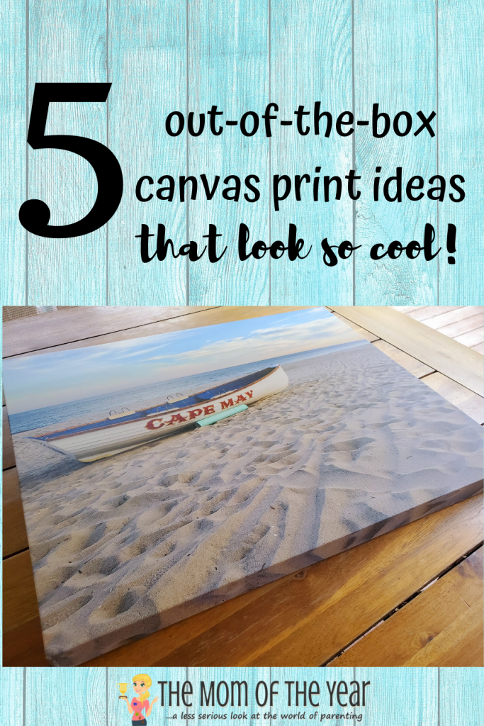 These 5 cool out-of-the-box canvas print ideas will have you sprucing up your home decor in no time! So easy, affordable and FUN!