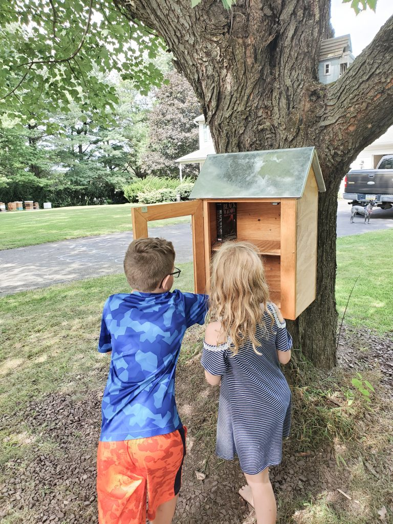 Wondering how to start a little free library? We've got your covered, start to finish, with this DIY guide! A Little Free Library is right around your corner with these hacks!