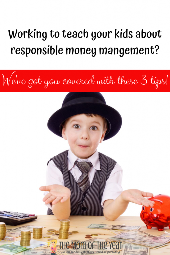 Not sure how to best go about teaching kids to manage money? We get it! Even better, we have the solution--these 3 smart, easy tips will get you and your kiddos on the right track in no time! Here's to smart financial responsibility!