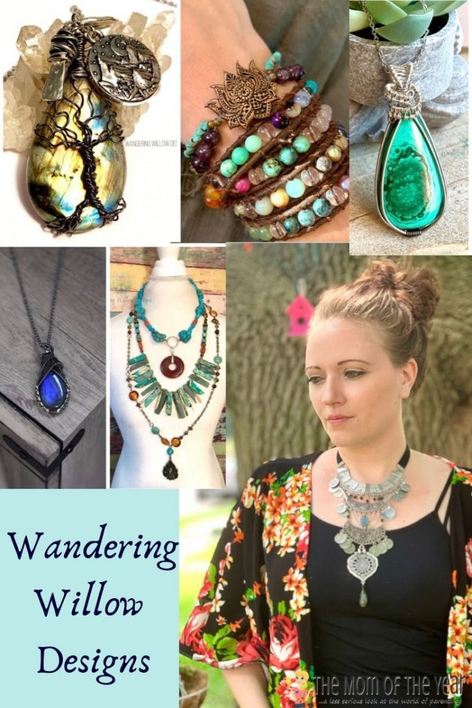 Handmade Goods you Need to Shop for on Small Business Saturday. wandering willow designs