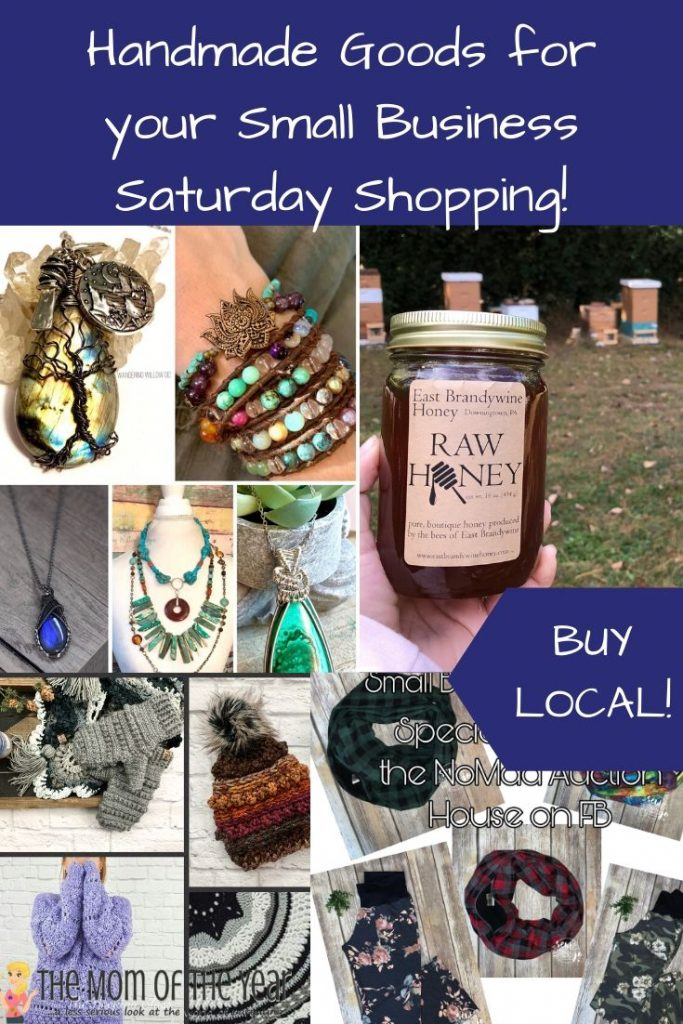 Handmade Goods you Need to Shop for on Small Business Saturday