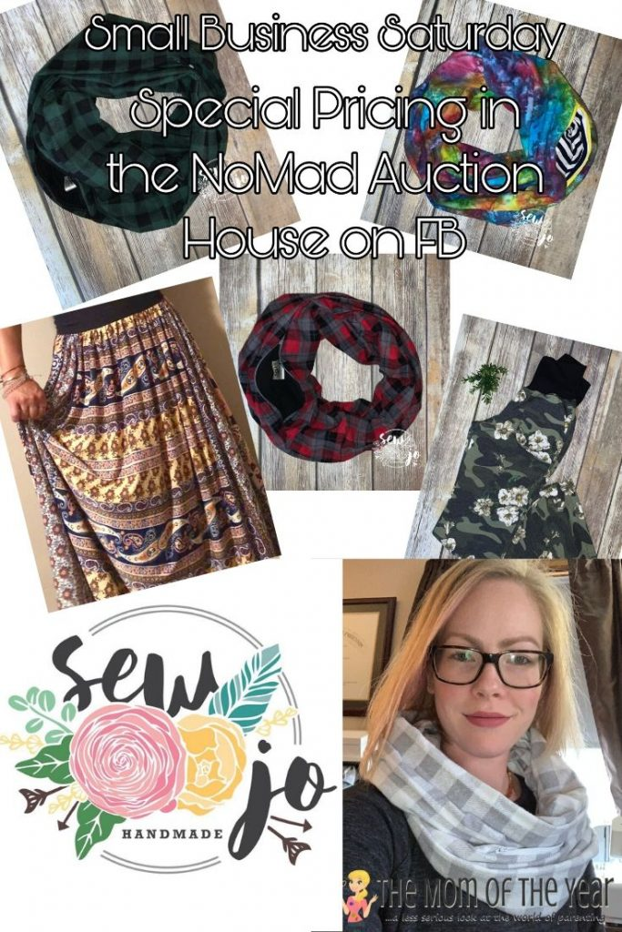 Handmade Goods you Need to Shop for on Small Business Saturday. sew jo handmade