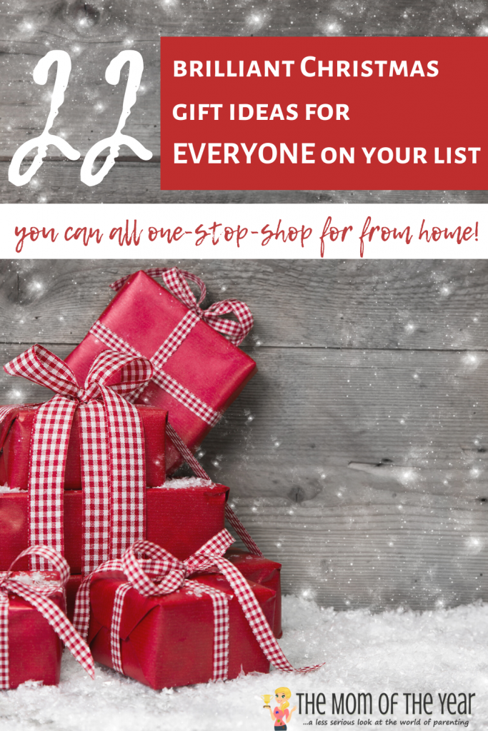 Feeling overwhelmed by the busy holiday season, mama? No worries! We've got your one-stop-shop Christmas gift guide here! Pop online and get ready to knock out your Christmas shopping list in minutes! Bonus for the unique, creative ideas you'll find nowhere else!