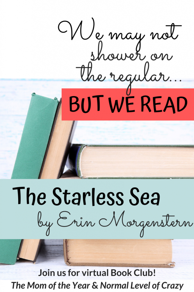 Looking for a good read? Our virtual book club is delighting in our latest book club pick! Join us for our The Starless Sea book club discussion and chat the discussion questions with us! We're so glad you're here! Make sure to chime in for the chance to grab next month's pick for FREE!