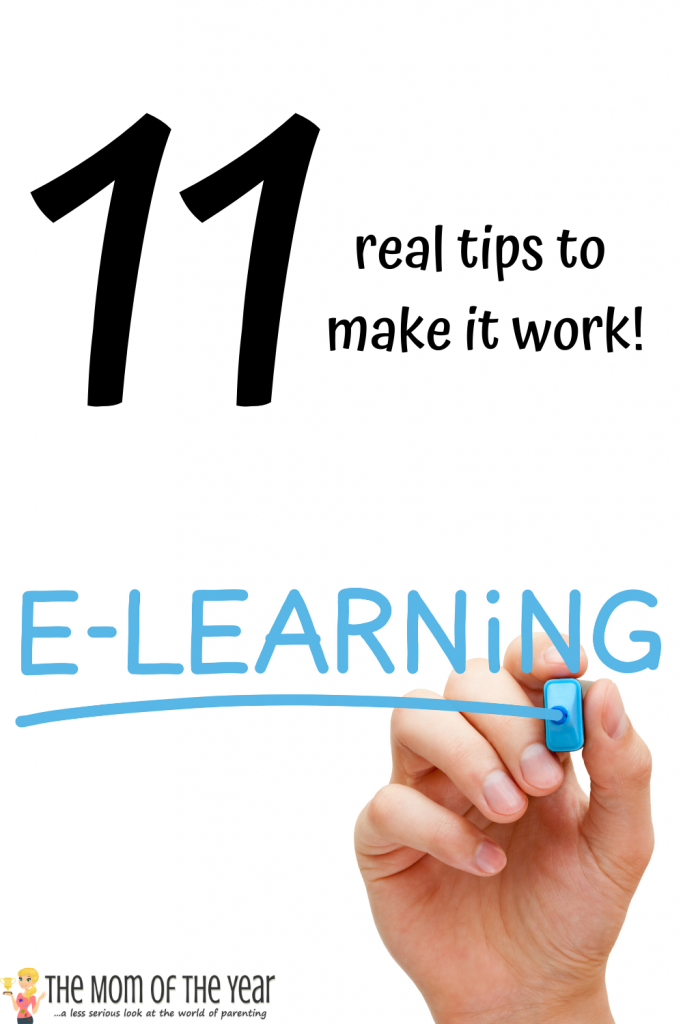 New to e-learning, parents? You aren't alone! Grab these 11 elementary e-learning tips to make a smooth go of this venture with your kids!