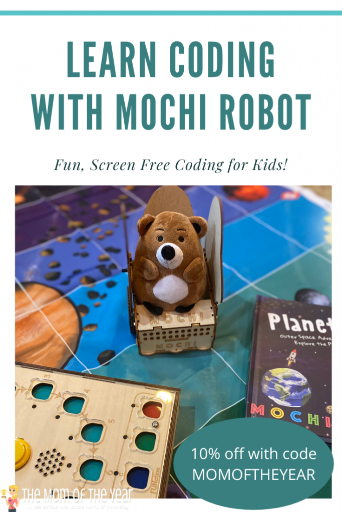 Screen free coding with Mochi