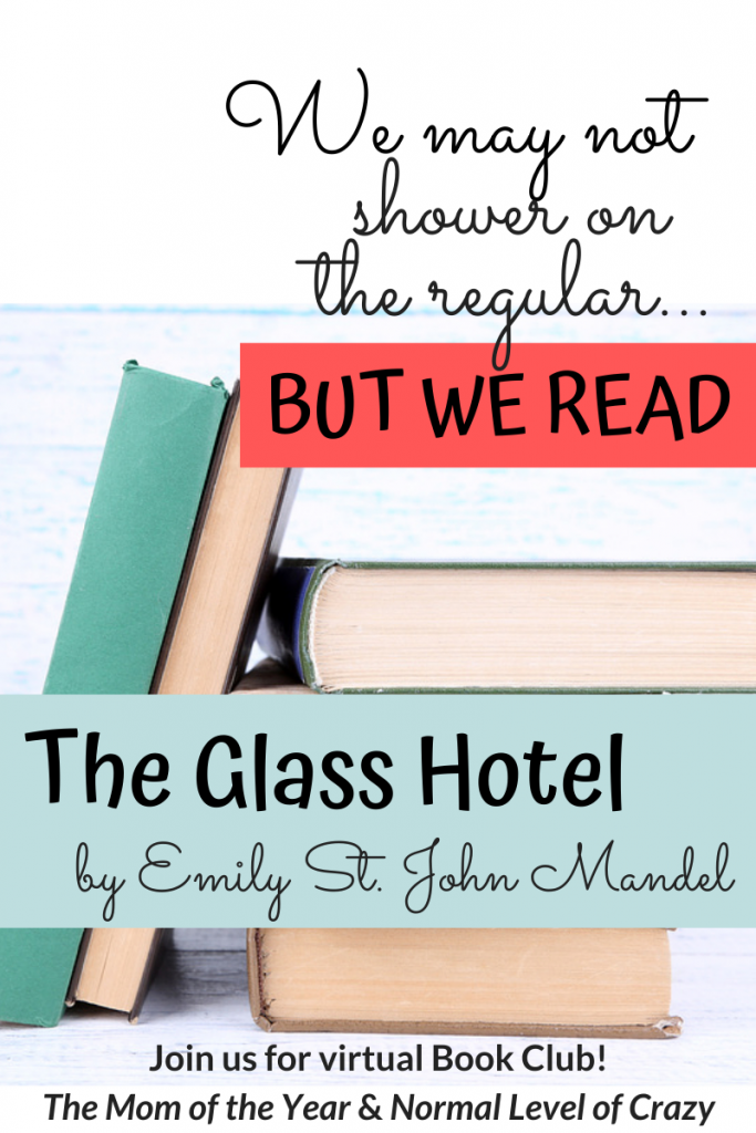 Looking for a good read? Our virtual book club is delighting in our latest book club pick! Join us for our The Glass Hotel book club discussion and chat the discussion questions with us! We're so glad you're here! Make sure to chime in for the chance to grab next month's pick for FREE!