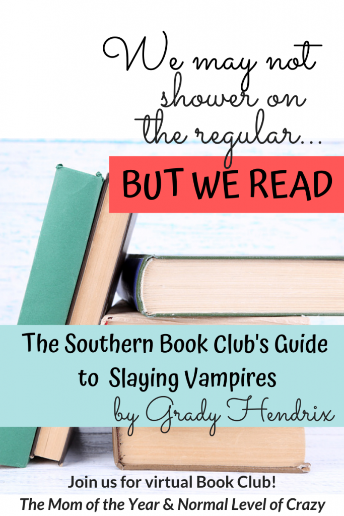 Looking for a good read? Our virtual book club is delighting in our latest book club pick! Join us for our The Southern Book Club's Guide to Slaying Vampires book club discussion and chat the discussion questions with us! We're so glad you're here! Make sure to chime in for the chance to grab next month's pick for FREE!