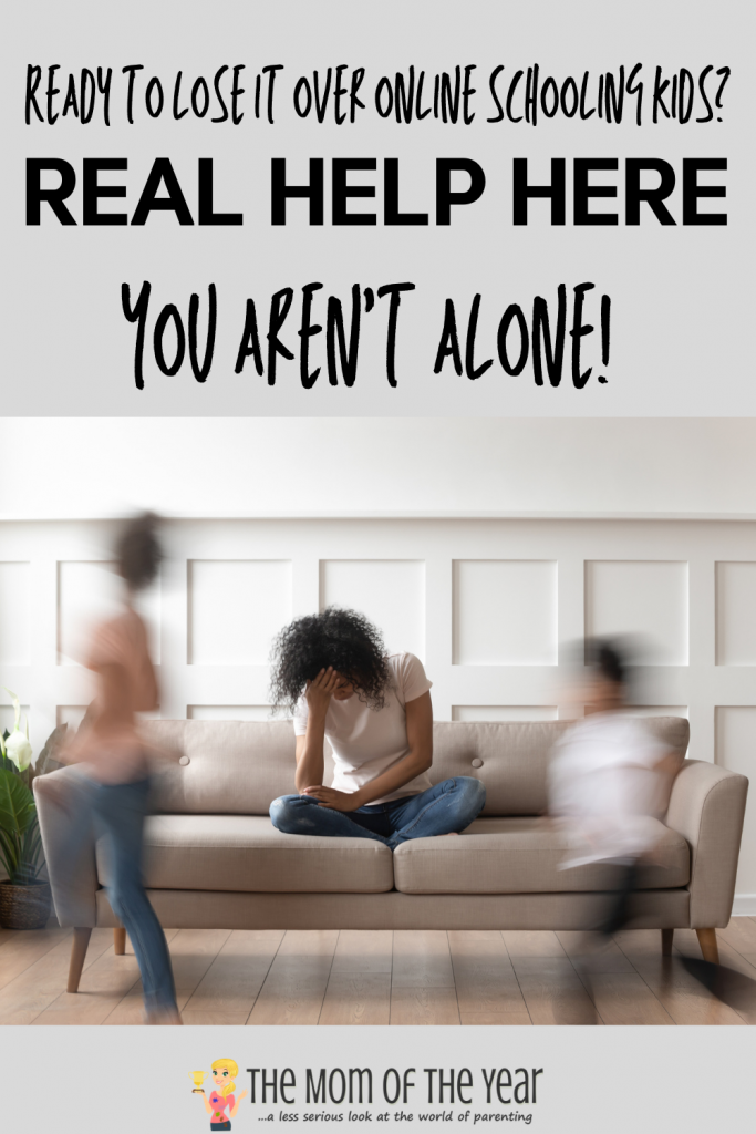 Online learning has stolen your mom soul? You AREN'T ALONE. These days are so, so rough and brutal. These truths do help see you through...