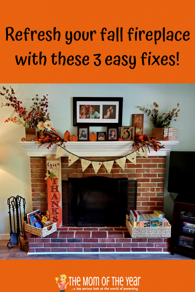 Looking to display a gorgeous fall fireplace decor in your home? I love these easy, affordable solutions to add a seasonal accent to your space!
