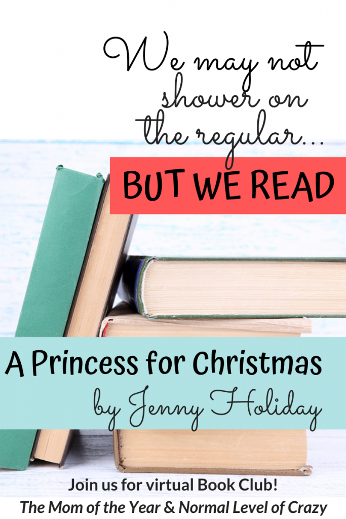 We're so excited to have you join our A Princess for Christmas Book Club discussion! And make sure to check out our next book pick and chime in on the book club discussion questions! And pssst...there's a FREE book up for grabs!