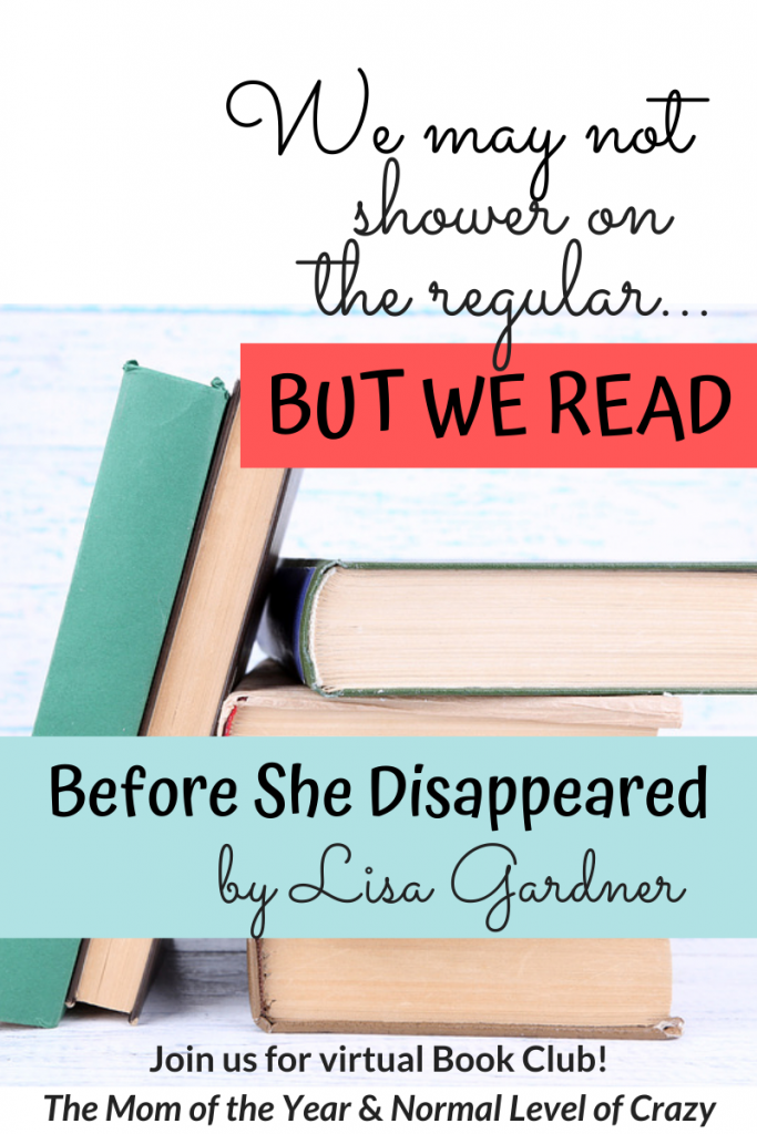 We're so excited to have you join our Before She Disappeared Book Club discussion! And make sure to check out our next book pick and chime in on the book club discussion questions! And pssst...there's a FREE book up for grabs!