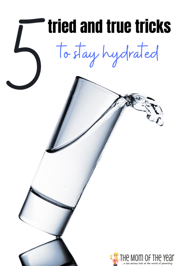 When you are sick, it can be hard to stay hydrated, but it's more important than ever that you do! Check out these 5 tried and true tricks to make sure you keep the hydration level flowing!