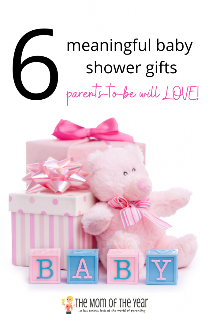 These 6 meaningful baby shower gifts will be SO appreciated by mom-to-be! Check these unique, creative gift ideas out!