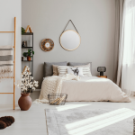 These 6 genius hacks for designing a small space bedroom will leave you loving your space! I would never have thought of half of these!