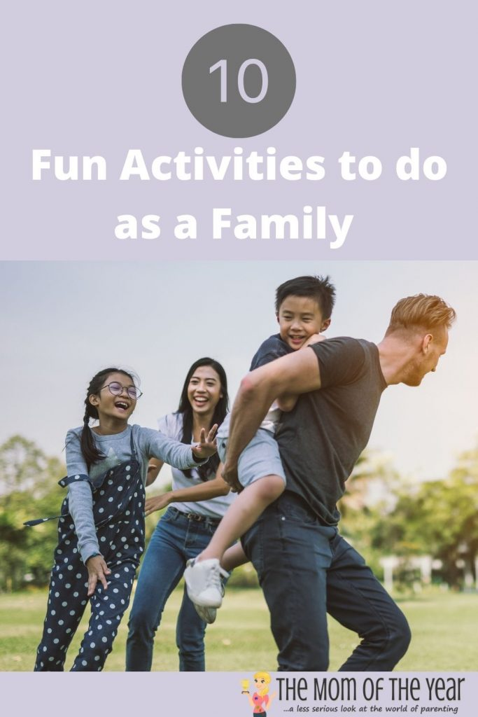 healthy activities to do as a family